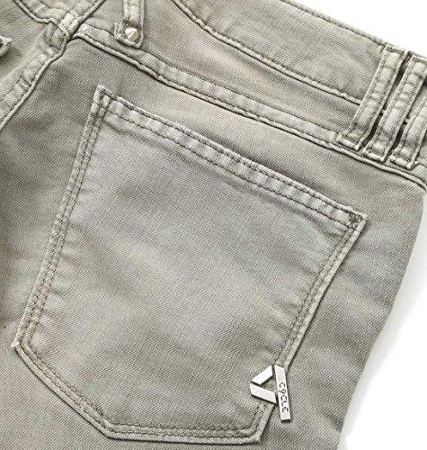 Cycle Damen WPT424B0820775 Grün Baumwolle Jeans