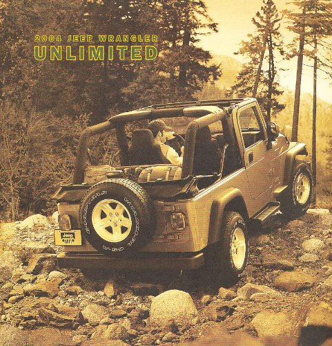2004 Jeep Wrangler Unlimited Original Sales Brochure