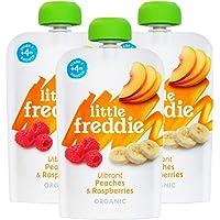Little Freddie Vibrant Peaches & Raspberries, 100 g, orange