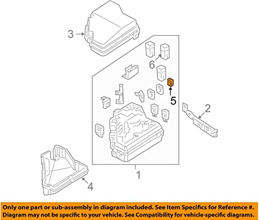 Honda 98200-21000 Fuse B Part Genuine Original Equipment Manufacturer 10a OEM