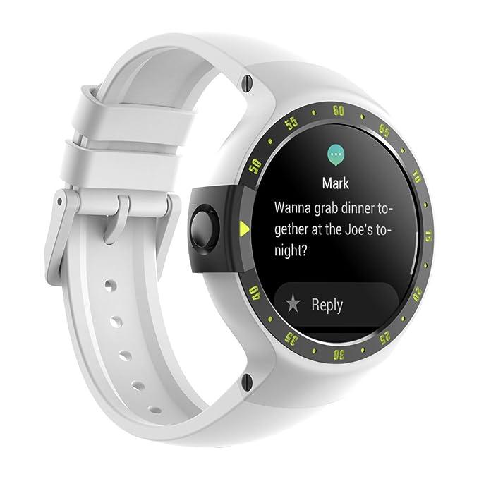 Image Unavailable Amazon.com: Ticwatch S Smartwatch-Glacier,1.4 inch OLED Display