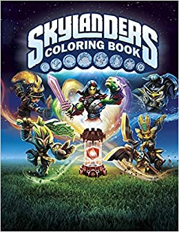 Skylanders Coloring Book: Great Activity Book for Kids: Paradise ...