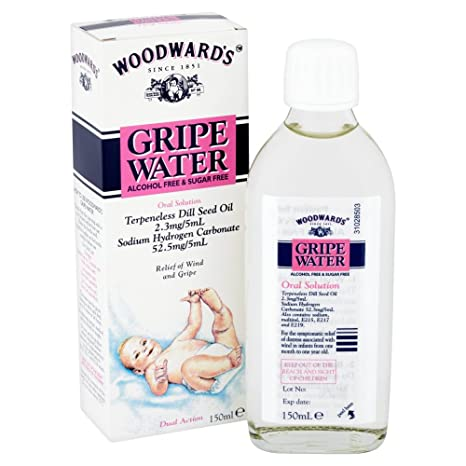 Woodward's gripe water relief wind & gripe (alcohol free) 148ml.