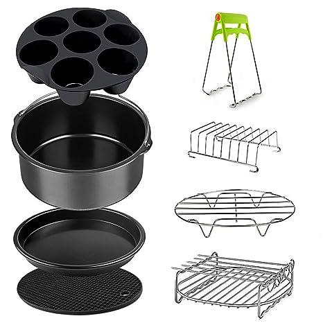 Amazon.com: Juego de accesorios para freidora de aire de ...
