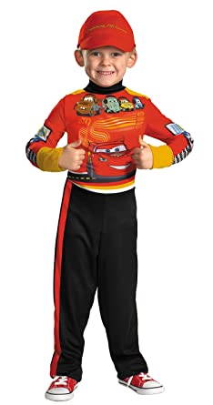 Childs Cars Lightning McQueen Pit Crew Costume Medium  sc 1 st  Amazon.com & Amazon.com: Childs Cars Lightning McQueen Pit Crew Costume Medium ...