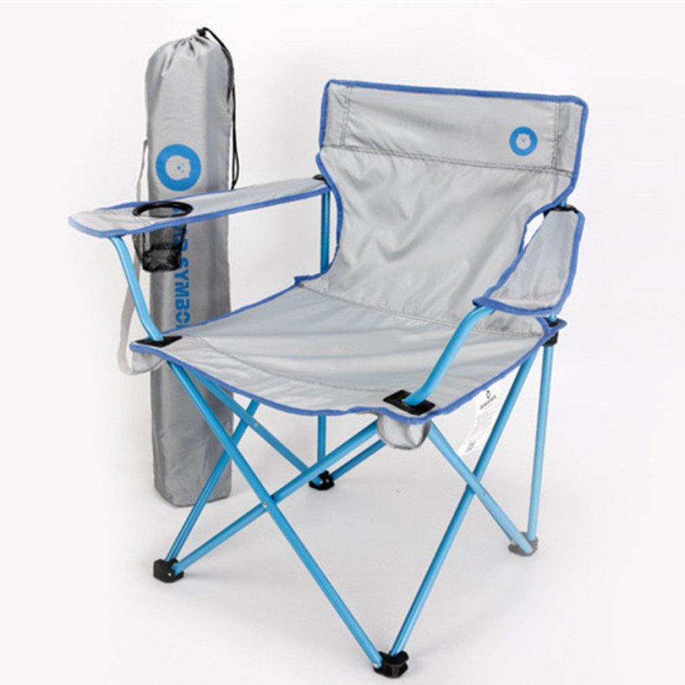 ZDYYCNC Camping Klappstuhl,Im Freien Klappstuhl Super Leichtes Tragbarer Angelstuhl