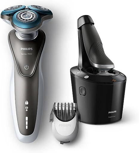 Philips S7720/31 Series 7000 - Maquinilla de afeitar con AquaTec (corta-barba, base SmartClean): Amazon.es: Salud y cuidado personal
