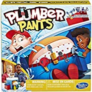 Hasbro Gaming Plumber Pants Game for Kids Ages 4 &