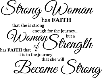 Amazoncom Newclew A Strong Woman Knows She Has Strength Enough For