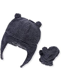 7e57fc56cc3 Amazon.com  Simple Joys by Carter s Baby and Toddler Girls  Hat and ...