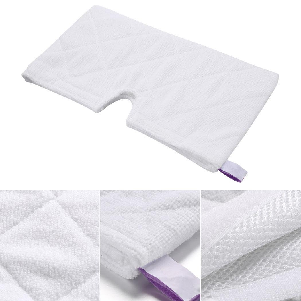 Creine 4PCS Replacement Cleaning Pads for Shark Pocket Steam Mop S3501, S3601, S3901