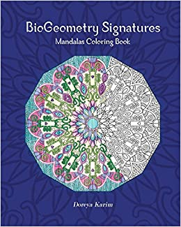 Amazoncom BioGeometry Signatures Mandalas Coloring Book