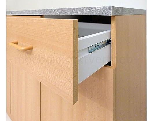 Anrichte Küchenschrank Sideboard buche: Amazon.de: Küche & Haushalt