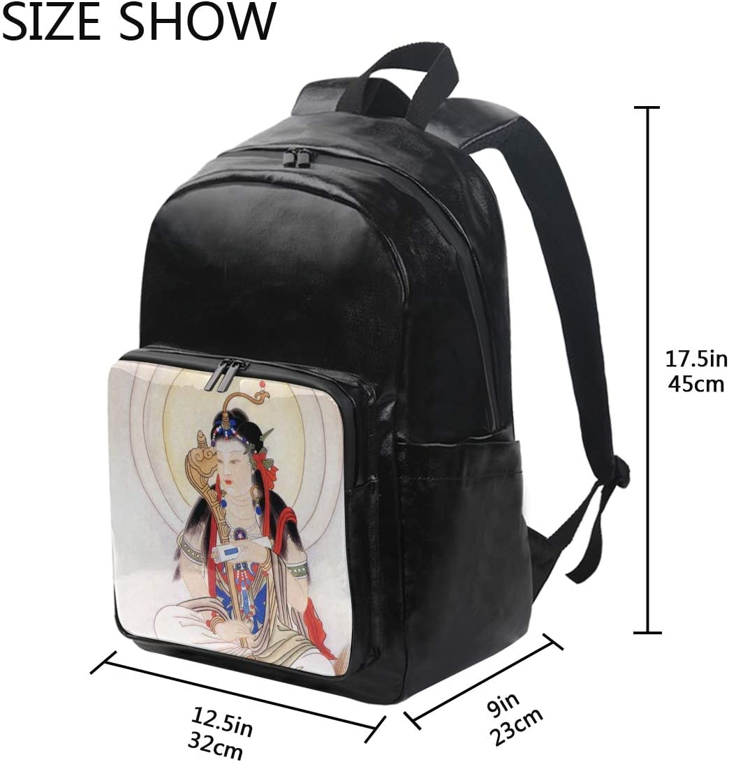 Immortal Student Backpacks College School Book Bag Travel Hiking Camping Daypack for boy for Girl Holds 12.5-inch Laptop 12.5x9x17.5