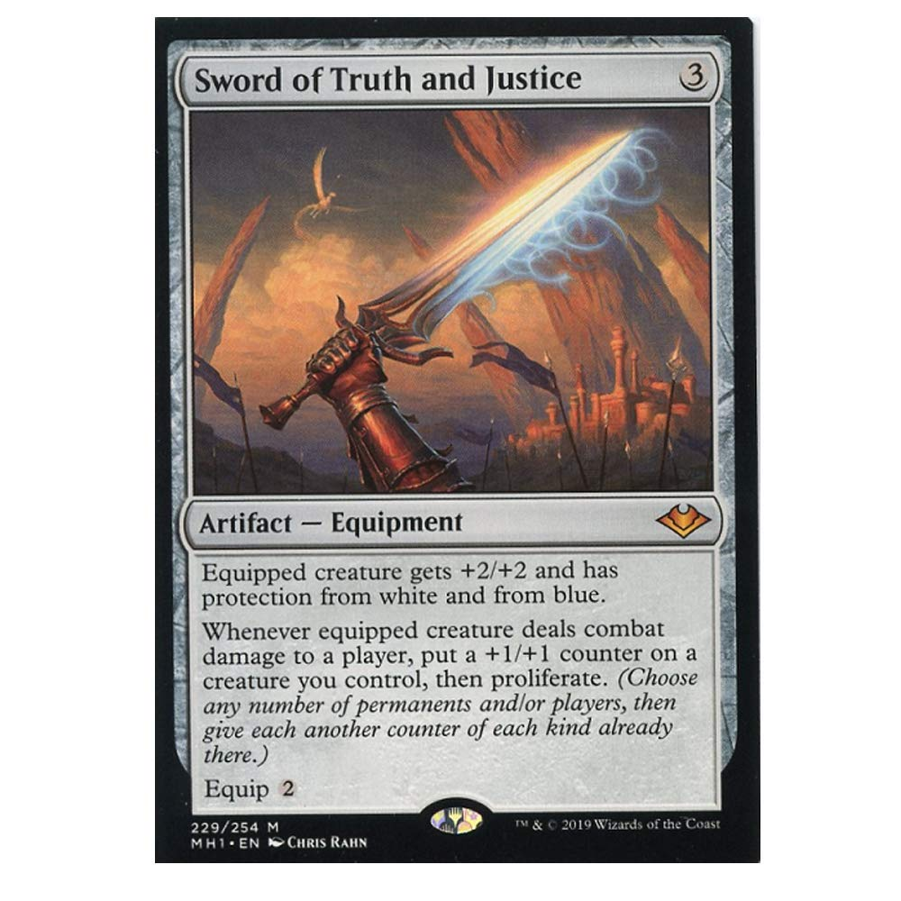 Mint Sword of Truth and Justice 229/254 Mythic foil