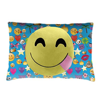 Amazon.com: Emoji almohada mascotas, Smiley: Toys & Games