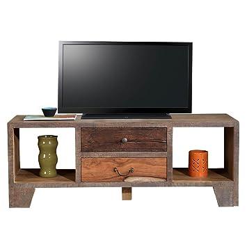 TV Board Lowboard TV-Bank Taarbek Holz Massivholz ...