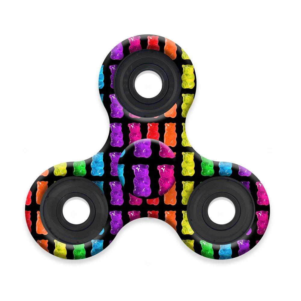 High Speed Longest Spin Time Spinner Squad Fidget Spinners gummy bear