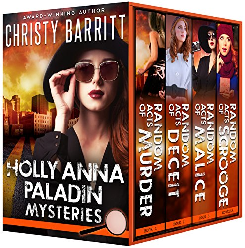 Holly Anna Paladin Mysteries Book Bundle, Books 1-3: Plus a Bonus Christmas Novella!