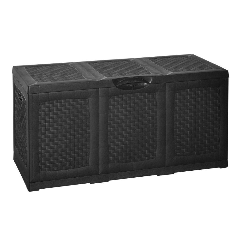 Importacion Wicker Storage Chest - 120x 52x 60cm Mundigangas