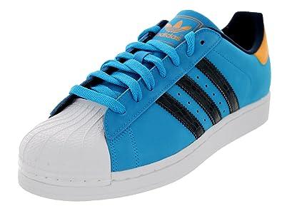 adidas superstar blue and black