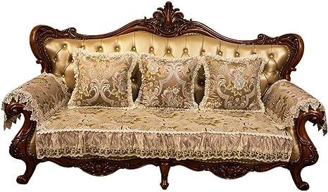 Divani Di Lusso In Pelle.Cuscino Per Divano Tessuto Di Lusso In Stile Europeo Tappetino In