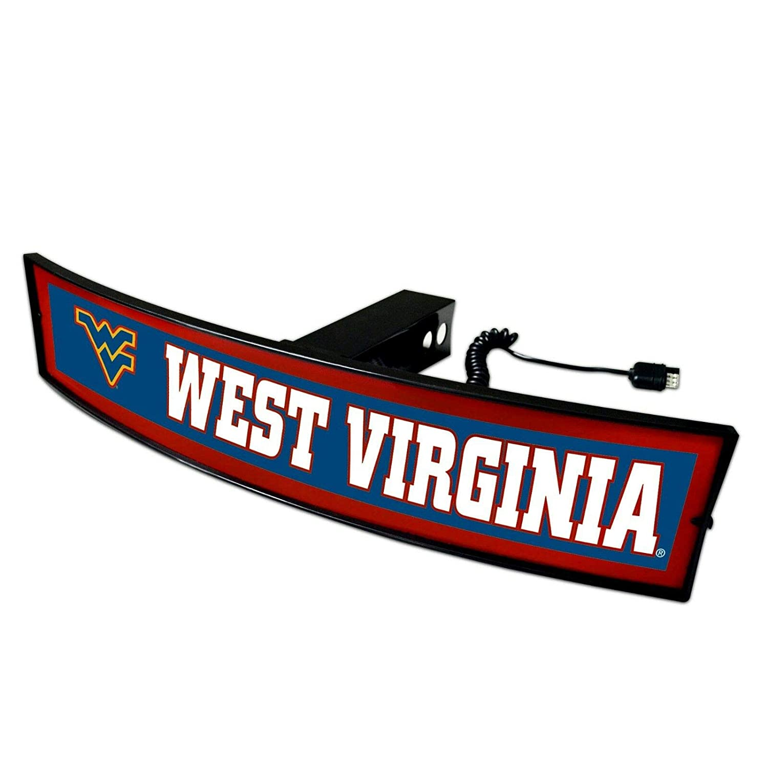 SLS West Virginia University Mountaineers Light Up Hitch Cover