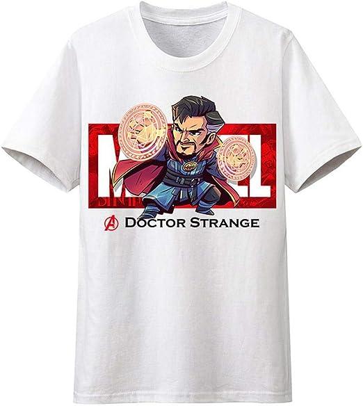 Kacular Clothing Camiseta Avengers Endgame Iron Man Thor Viuda Negra Hulk Capitán América Thanos Marvel Comics Superhéroes Niños Adultos Tamaño Camiseta 4-S: Amazon.es: Hogar