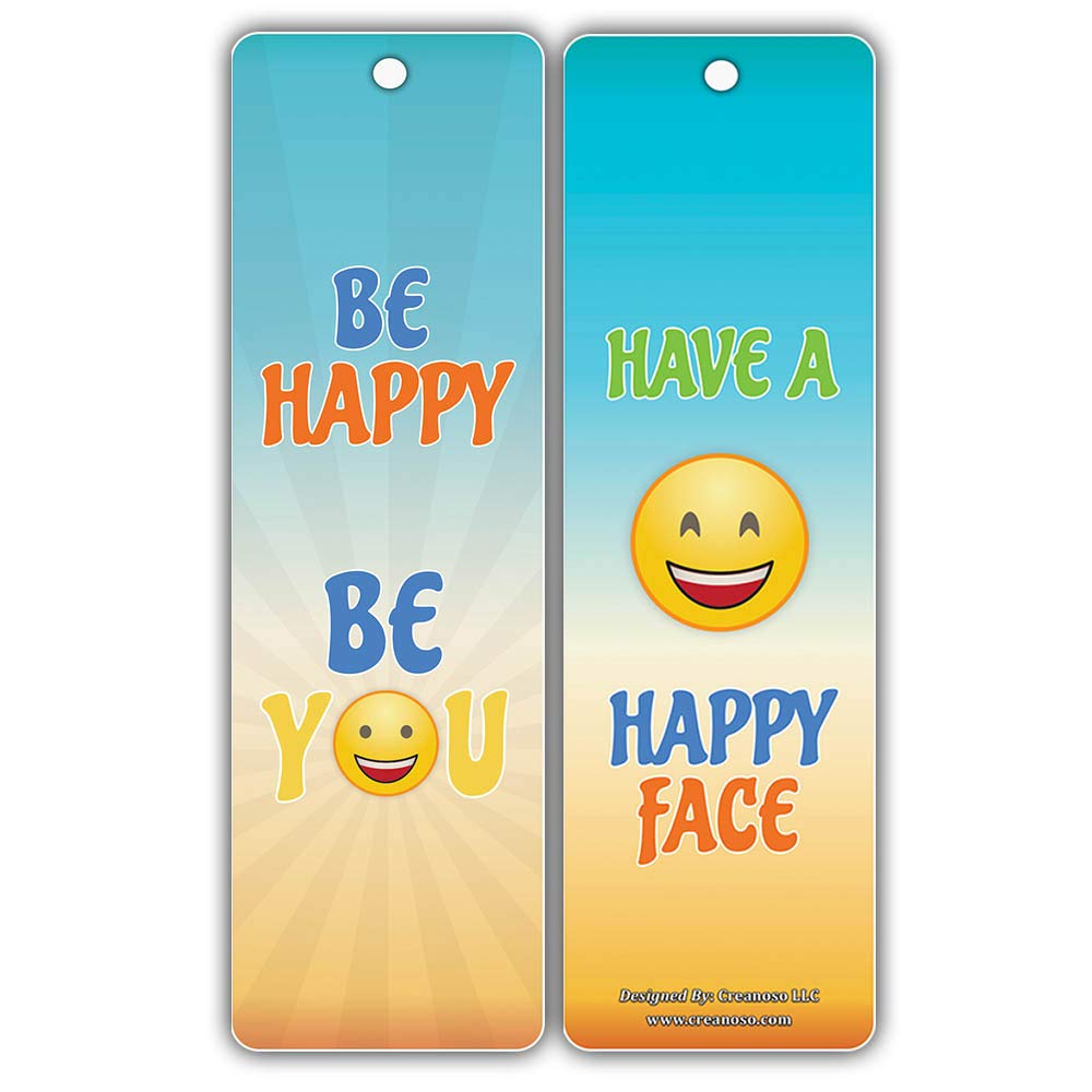 Encouragement Gifts Bookmarks for Kids Teens Boys Girls 12-Pack - Inspirational Smart Bookmarker Cards Stocking Stuffers for Birthday Party Childrens Day Thanksgiving Christmas Holidays