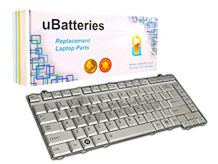 UBatteries Compatible Keyboard Replacement For Toshiba Satellite A200 A205  A210 A215 A300 A305 A305D L205 L300 L300D L305 L305D L510 L510 L515 M200