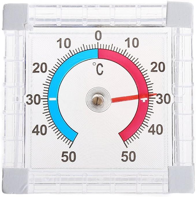 Fogun Bimetall Fenster Aussen Klebe Thermometer Analog Anzeige 50 C Baumarkt