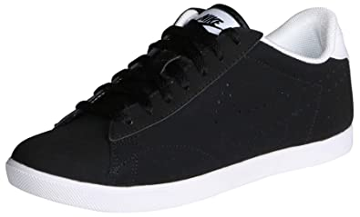 sports shoes 1cfee 22656 Nike Women s Racquette LTR Black White 454412-091 ...