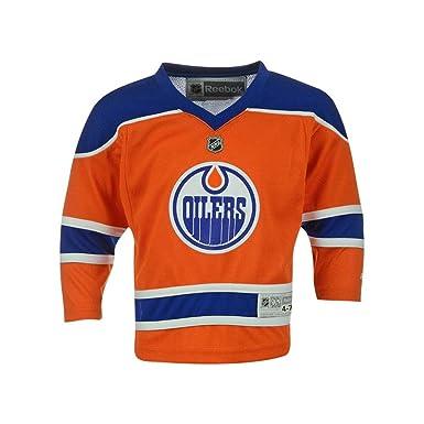 ... cheap edmonton oilers blank reebok orange replica kids jersey kids 4 7  d2ece acd69 73f1219b4
