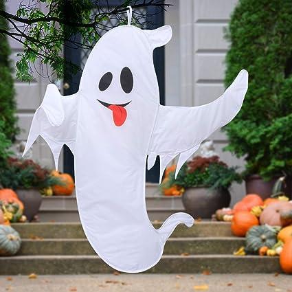 Large Hanging Outdoor Halloween Decorations.Amazon Com Halloween Decorations Outdoor Super Large Halloween Ghost Decorations For Tree With Easy Hanging Lanyard 59 Inch Garden Outdoor