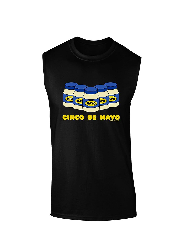 TooLoud Cinco de Mayo 5 Mayo Jars Dark Muscle Shirt