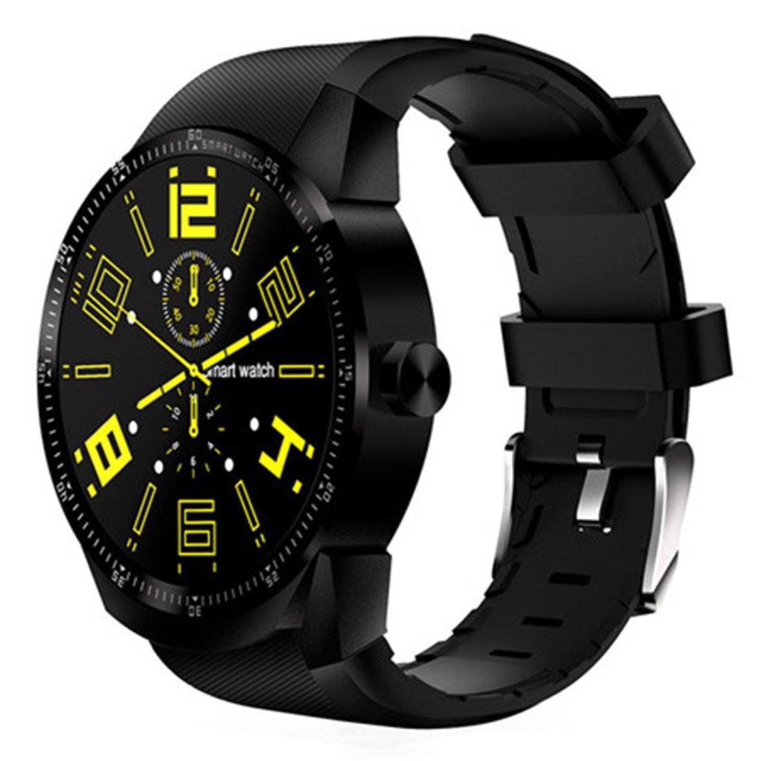 Amazon.com: PINCHU K98H 3G Smart Watch Phone GPS Navigation ...
