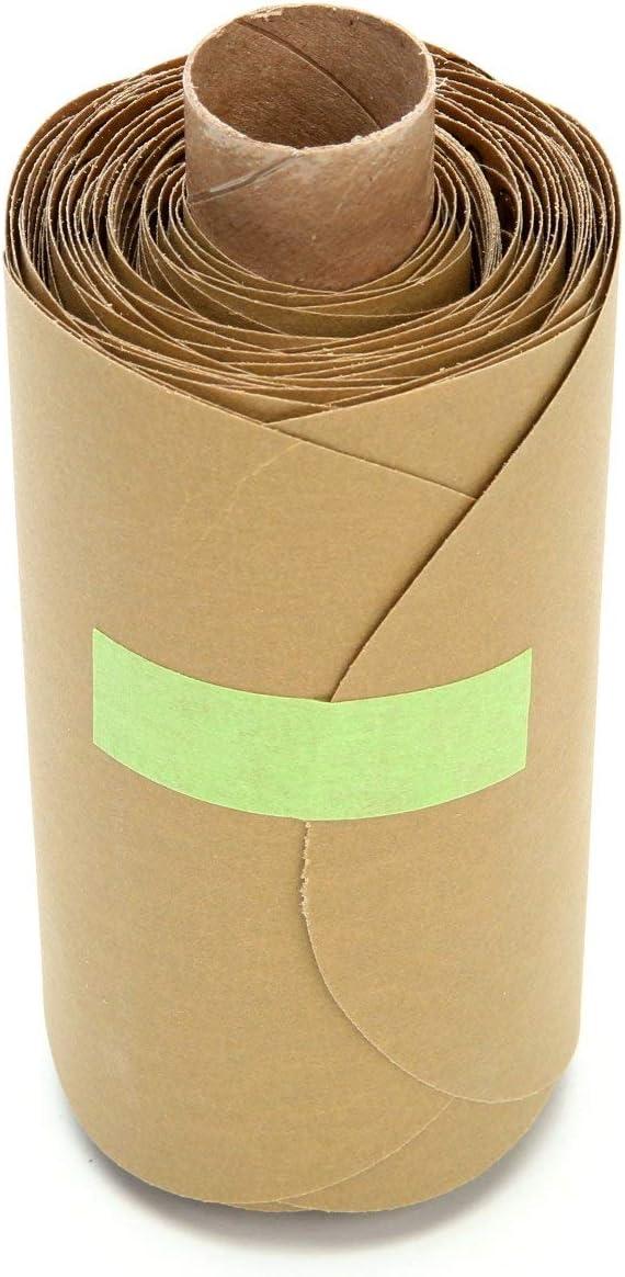 3M Stikit Paper Disc Roll 236U, 5 in x NH P320 C-weight, Die 600Z, 100 discs per roll 4 rolls per case