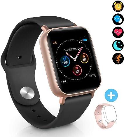 BYTTRON Smart Watch Fitness Tracker, Bluetooth Smartwatch IP68 a ...
