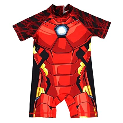Amazon.com : BEITAI Boys Swimwear Kids One Piece Swimsuit ...