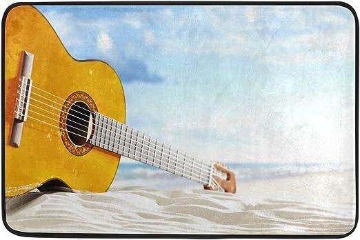 FFY Go - Alfombrilla de baño Antideslizante con diseño de Guitarra ...