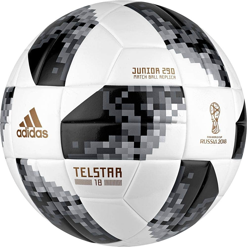 Lionel Green Street Nylon Mirar fijamente  adidas FIFA World Cup junior ball, Unisex, CE8147, White/Black/Silvmt, 4  (EU): Amazon.co.uk: Sports & Outdoors