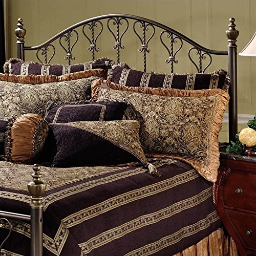 Hillsdale Furniture 1332HFQ Hillsdale Huntley Headboard, Full/Queen, Bronze