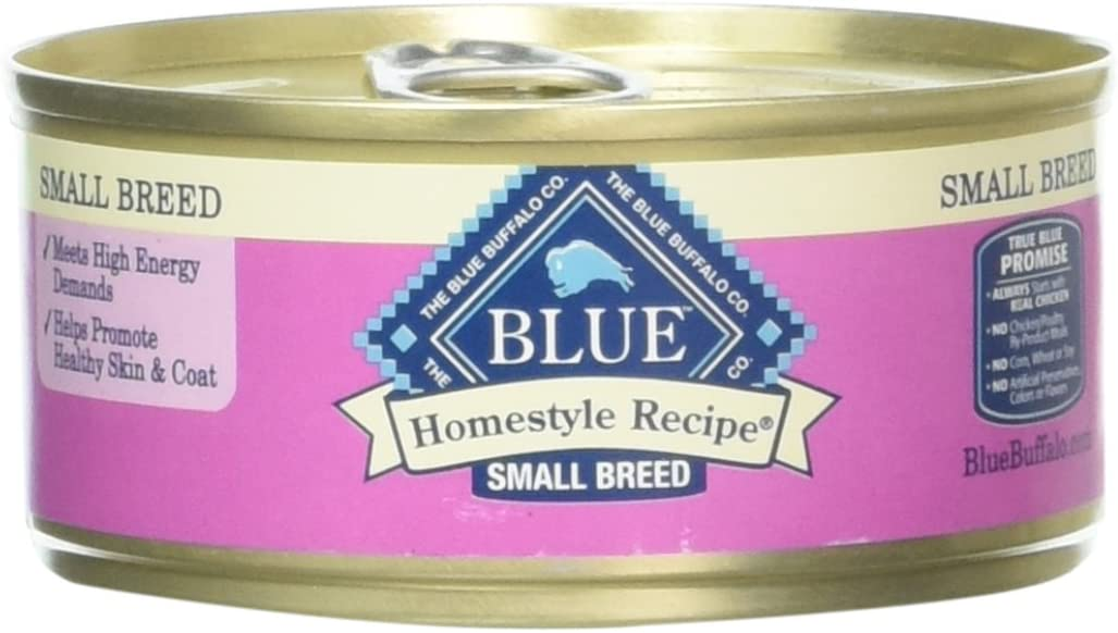 American Distribution 800270 Blue Buffalo Homestyle Chicken Breed Dog Food, Small/5.5 Oz