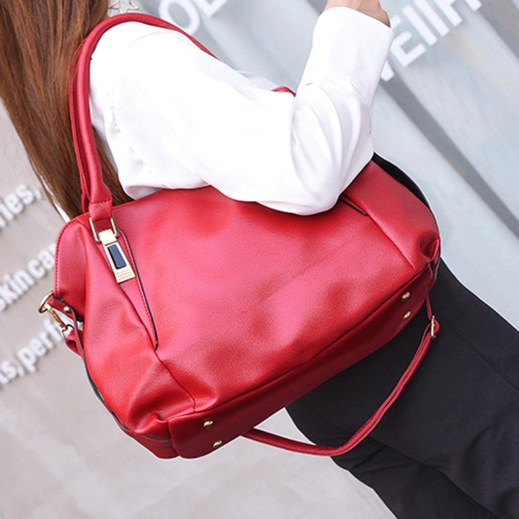 Fullfun Women Multifunction Leather Handbag//Shoulder Bag//Crossbody Bag//Tote Bag
