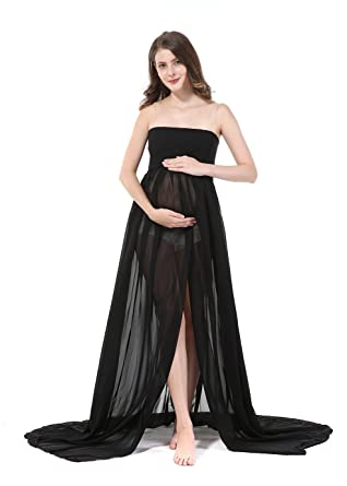f861301a42bf6 Sexy Pregnant Women Photography Props, Maternity Photo Shoot Skirts  (black): Amazon.ca: Clothing & Accessories
