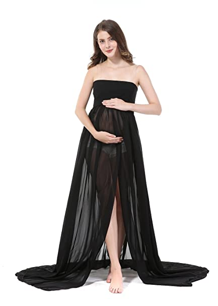 8fc121971fa2b Sexy Pregnant Women Photography Props, Maternity Photo Shoot Skirts (black)