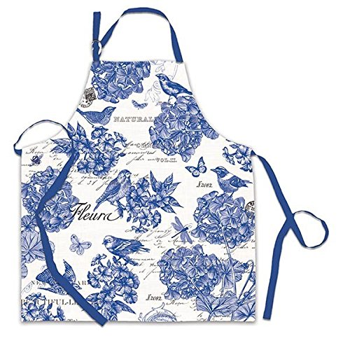 Michel Design Works Chef Apron, Indigo Cotton ()