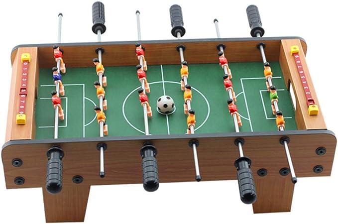 WOAIM 50cm Futbolín de Mesa Portátil Futbolín para Niños Juego Futbolín Infantil para niños Mini Futbolín Mesa de Fútbol Juego de Competición Sala Arcade: Amazon.es: Deportes y aire libre