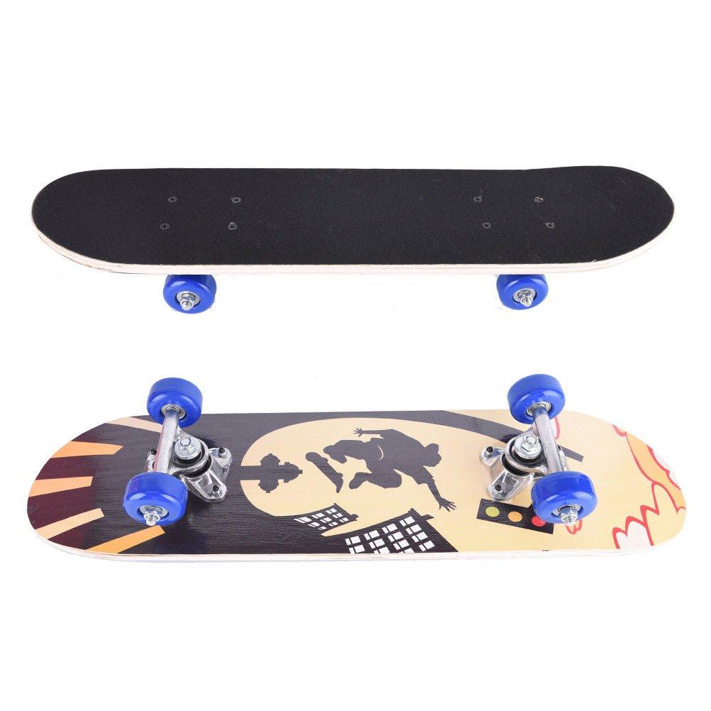 FidgetFidget deck printing street graffiti style skateboard for kids skate 1pc