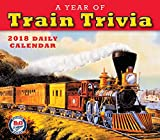 A Year Of Train Trivia: B+O Railroad Museum 2018 Boxed/Daily Calendar (CB0272)